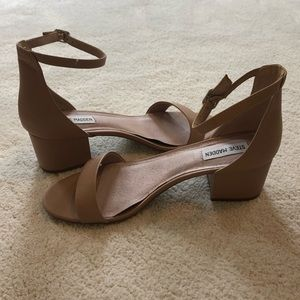 "Steve Madden Block heel ""Irenee"" blush, size 9.5"